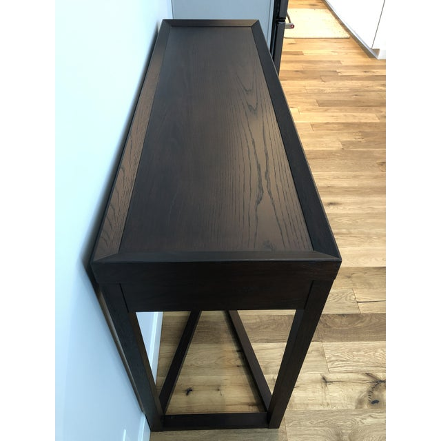Brown Modern Calvin Klein Console Table With Storage For Sale - Image 8 of 12