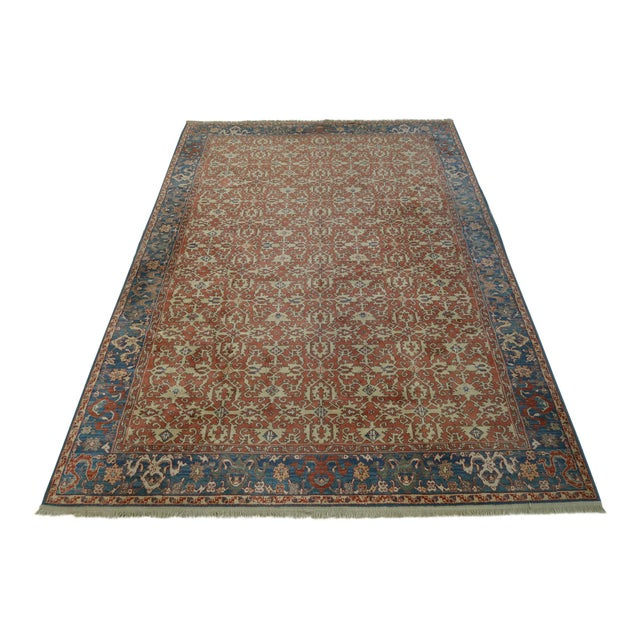 Karastan Approx 8 X 12 Ushak Colonial Williamsburg Rug For Sale - Image 13 of 13