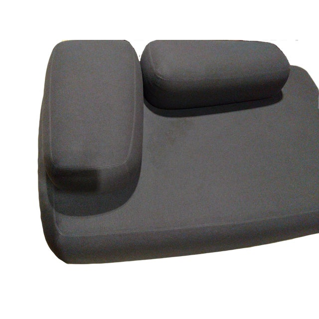 Comfortable and stylish design. Soft felted wool fabric with subtle gray topstitching. Designed by Piero Lissoni. Used...