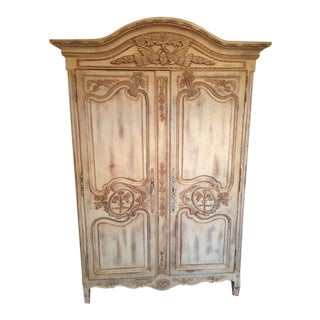 Highland House Hand Carved French Armoire