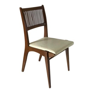 Mid Century Modern Van Koert for Drexel Profile Series Danish Dining Chair For Sale