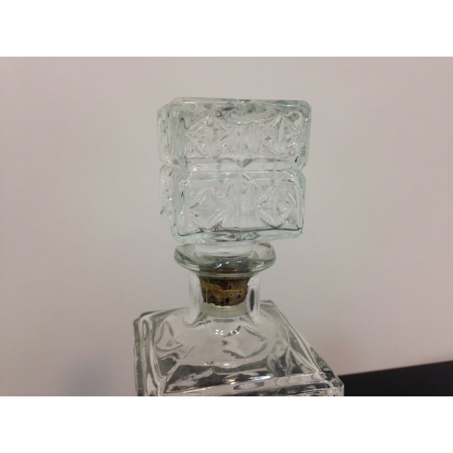 Vintage Cut Glass Decanter - Image 4 of 4