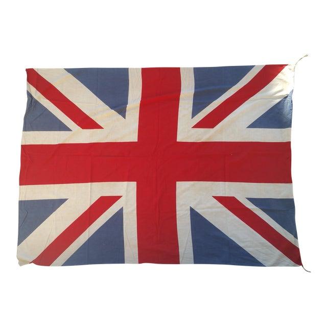 "72"" Vintage British Flag - Image 1 of 4"