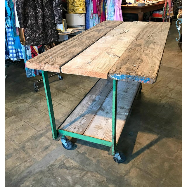 Fantastic find! We nabbed the body of the cart from a collector and then the wood from an equipment storage yard that was...