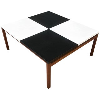 Early Lewis Butler for Knoll Associates Checkerboard Coffee Table