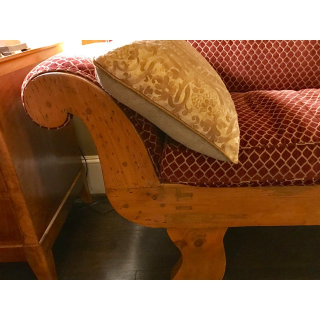 Mid 19th Century 1850s Antique Empire Sofa For Sale - Image 5 of 7
