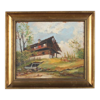 1942 Oil Painting For Sale