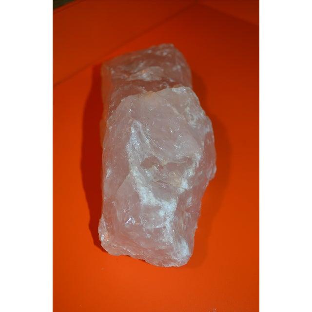 Rose Quartz Geode Stone - Image 9 of 11