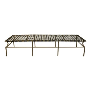 Tropitone Bench From the Cantina Series For Sale