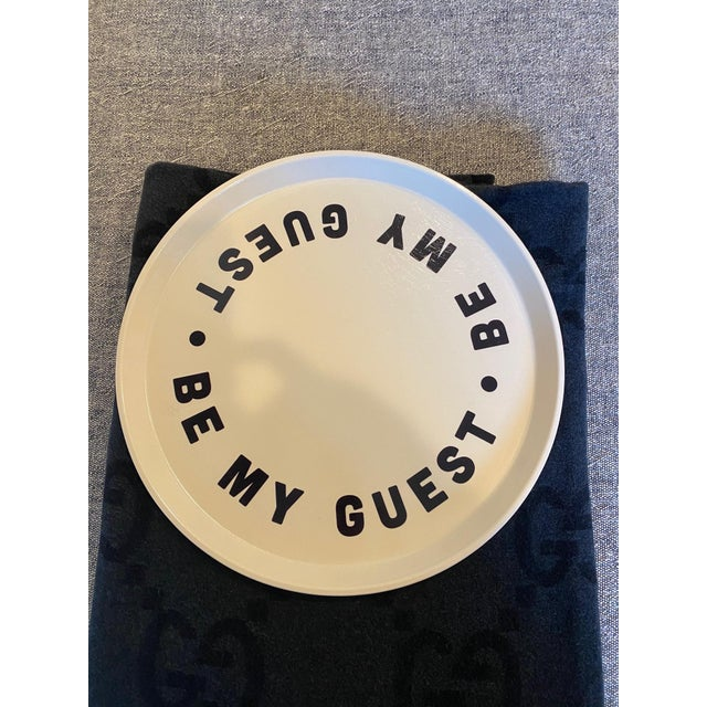 """""""Be My Guest"""" Tray For Sale In Los Angeles - Image 6 of 6"""