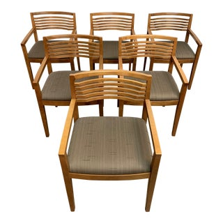"Knoll Studio ""Ricchio"" Chairs - Set of 6 For Sale"