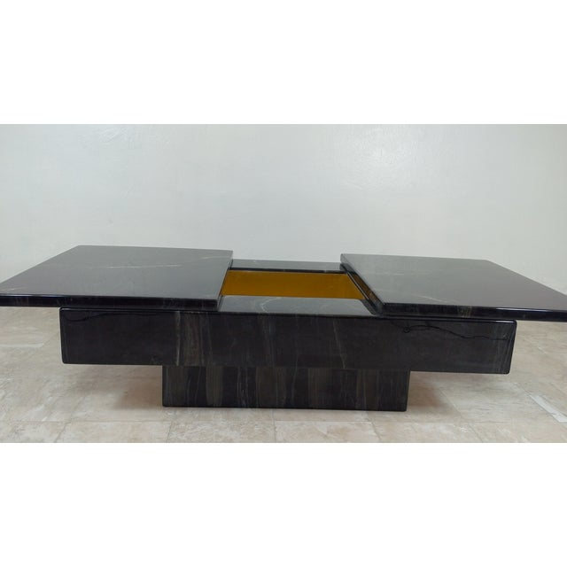 Willy Rizzo Willy Riso Coffee Table For Sale - Image 4 of 11