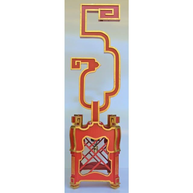 Custom Wooden Chinoiserie Pagoda Lantern, Designed by George Weinle For Sale - Image 9 of 13