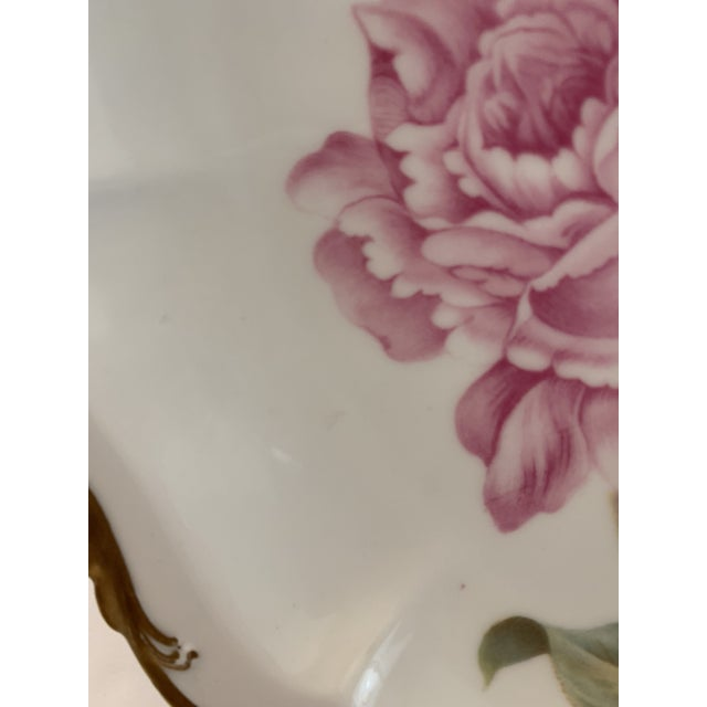 Traditional Late 19th Century Antique R. C. Crown Bavaria Plate For Sale - Image 3 of 9