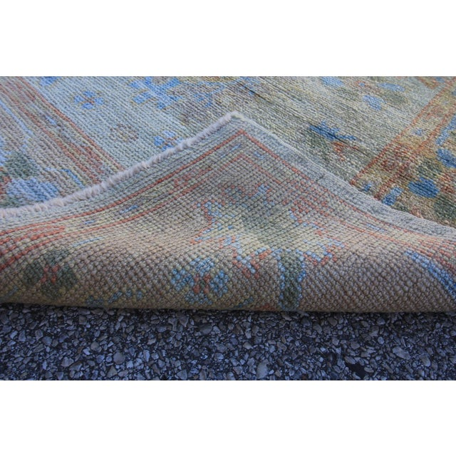 New Oushak Turkish Rug With Soft Colors - 3'5 X 6'6 - Image 5 of 5
