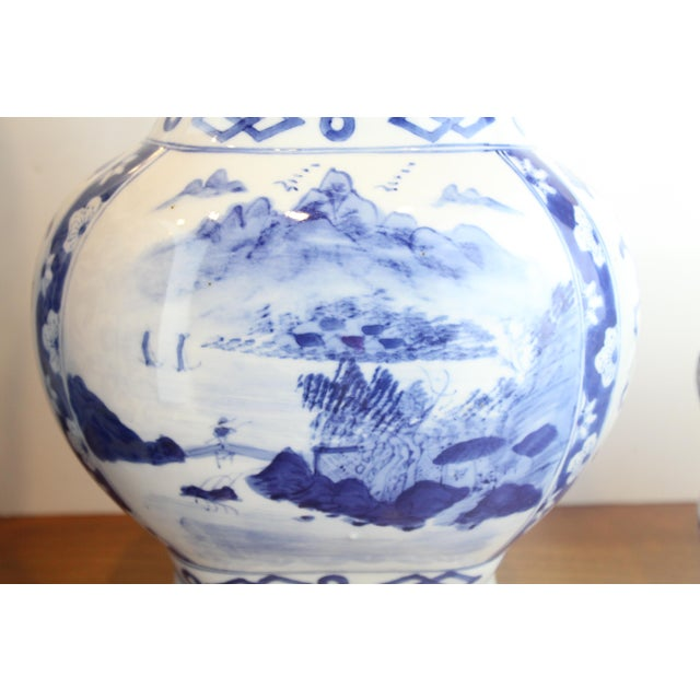 Chinese Double Handled Urn For Sale - Image 4 of 7