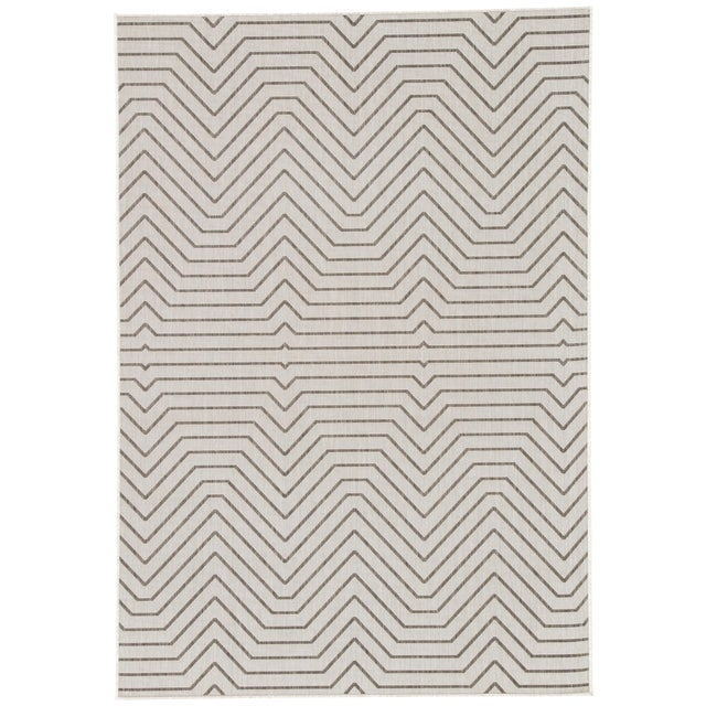 Jaipur Living Prima Indoor/ Outdoor Geometric Area Rug - 5′ × 7′6″ For Sale