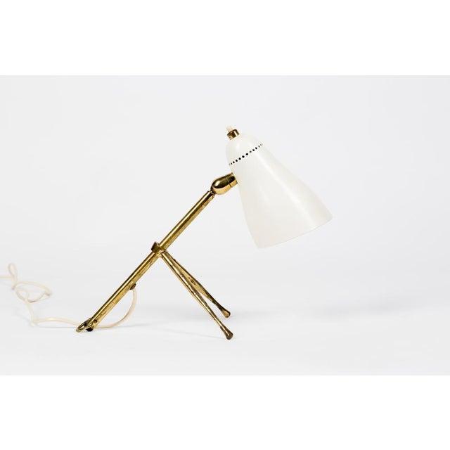 1950s Giuseppe Ostuni for Oluce, Table or Desk Lamp for Oluce, 1950s For Sale - Image 5 of 12