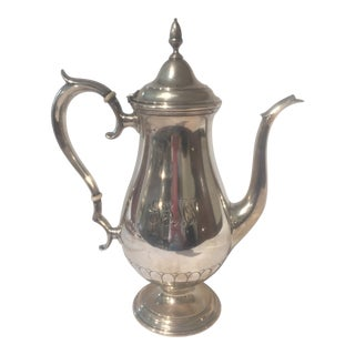 1930s Towle Sterling Silver Coffee Pot For Sale