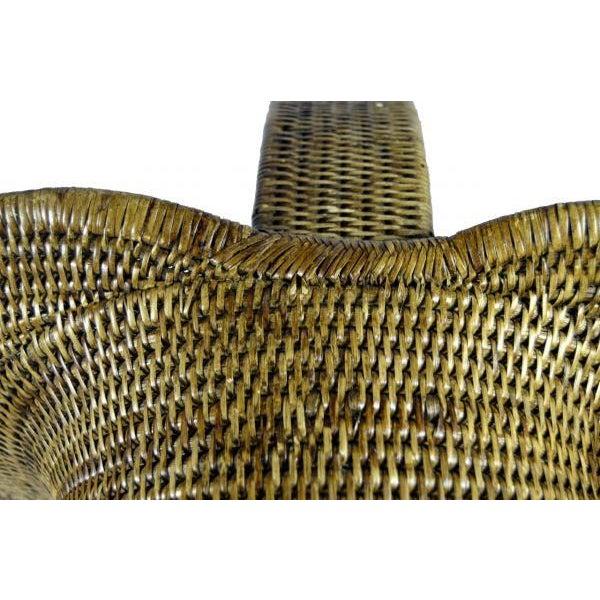 Burmese Hand Woven Hat Basket - Image 9 of 10