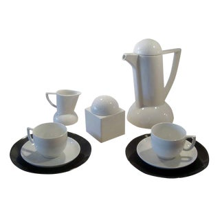 """Lutz Rabold """"City"""" Coffee Service for Arzberg - 9 Pieces For Sale"""
