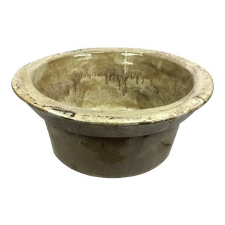 Studio Pottery Earthenware Bowl For Sale