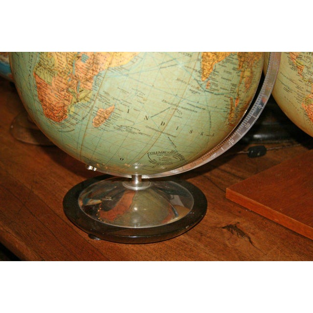1940s Swedish & German Glass Globes For Sale - Image 5 of 6