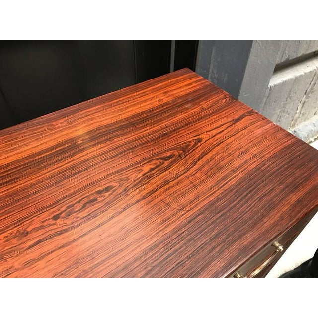 Early Ole Wanscher Rosewood Server Table Danish A. J. Iversen - Image 7 of 8