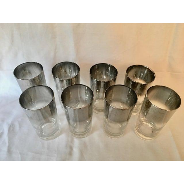 Mid-Century Dorothy Thorpe Style Drinking Glasses - Set of 8 - Image 3 of 9