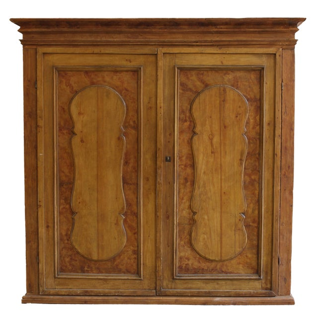 Grand Antique 17th Century Tuscan Armoire For Sale