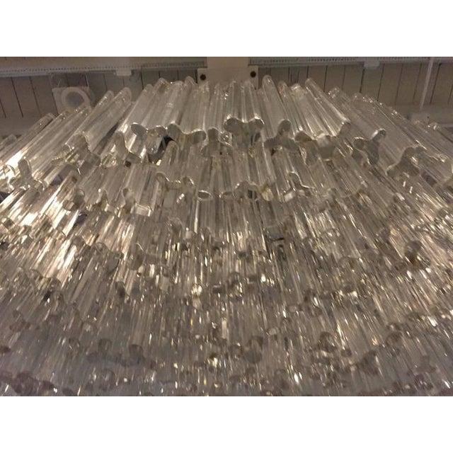 Venini Mid-Century Italian Murano Glass Chandelier For Sale - Image 9 of 10