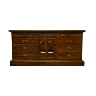 Ethan Allen Triple Door Dresser For Sale