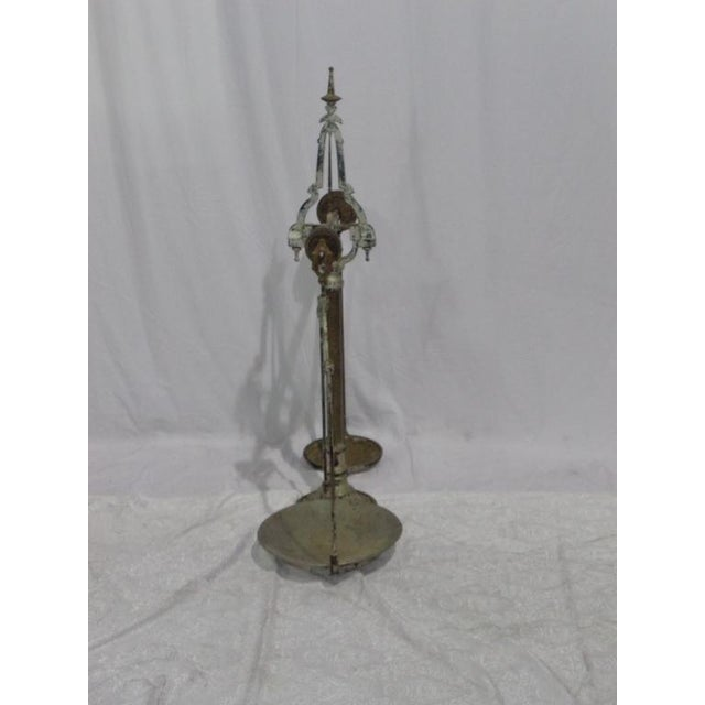 Antique French Industrial Butcher Scale - Image 8 of 8