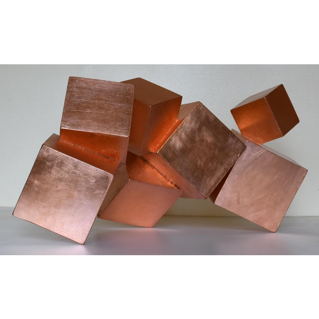 Copper and Mahogany Pyrite Sculpture For Sale In Aspen - Image 6 of 13