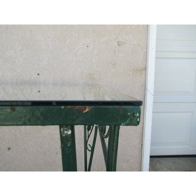 1930s Vintage Salterini Patio Dining Table For Sale - Image 5 of 13