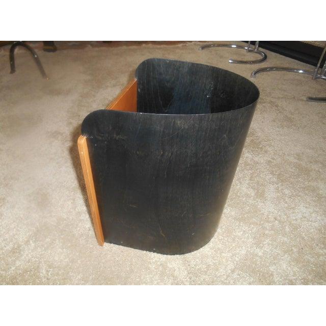 Mid-Century Modern Designer Giorgio Pizzitutti Milano Waste Basket For Sale - Image 6 of 6