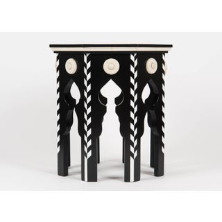 Pasha Side Table With Faux Ivory Preview