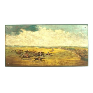English Steeplechase Paintings - a Pair For Sale