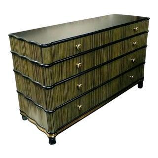 Henredon Furniture Jeffrey Bilhuber Livingston Street Strie Drawer Dresser For Sale
