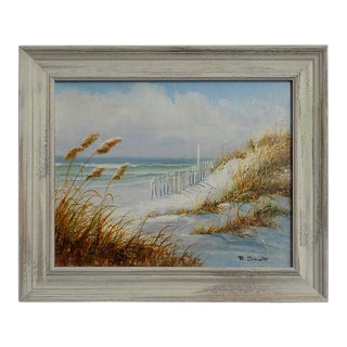 Dune Seascape Painting by R. Scott For Sale