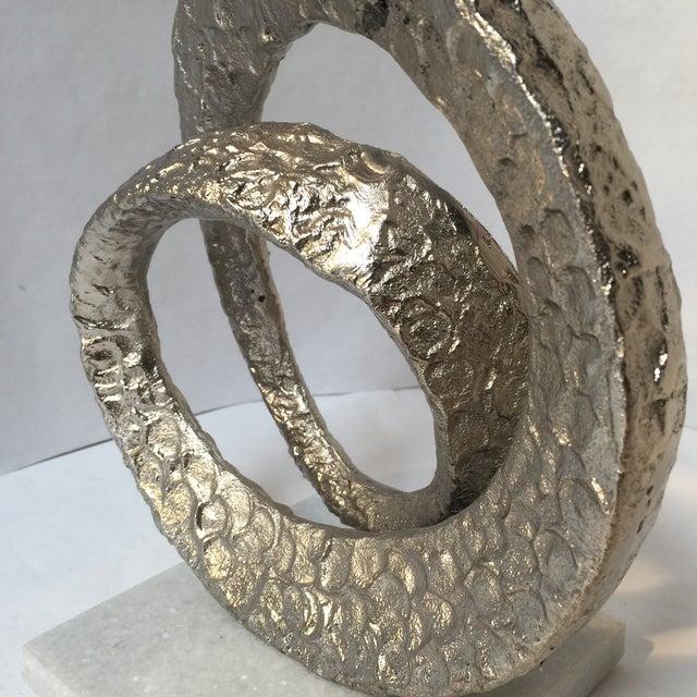 Asian Brutalist Modern Sculpture For Sale - Image 3 of 7