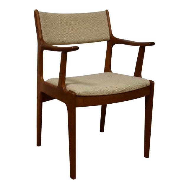Mid-Century Teak Side Chair - Image 1 of 11