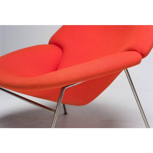 1960s Pierre Paulin F555 Lounge Chair For Sale - Image 5 of 8
