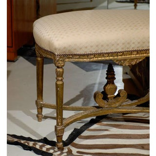 Oversized Louis XVI Gilded Stool Preview