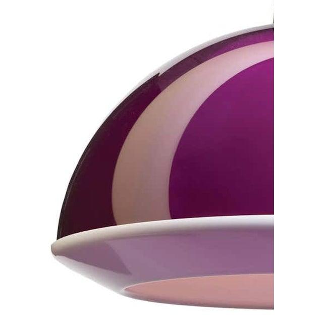 Yki Nummi Yki Nummi Purple 'Kuplat' Pendant for Innolux Oy, Finland For Sale - Image 4 of 5