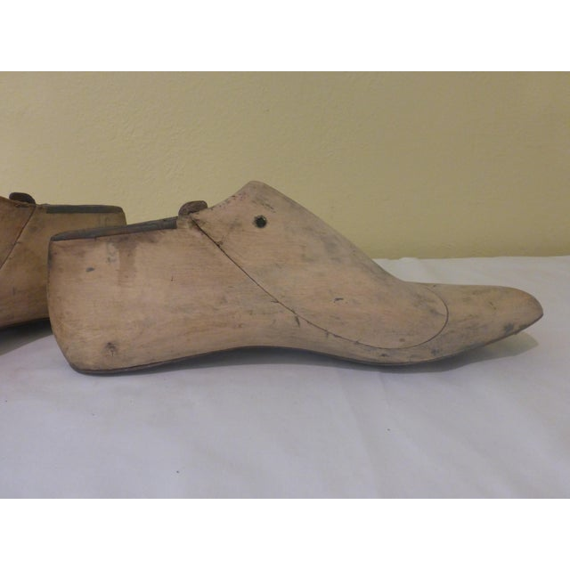 Vintage Shoe Molds - Pair - Image 6 of 7