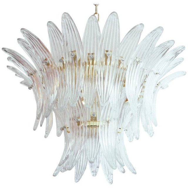 Tropicana Palmette Chandelier by Fabio Ltd For Sale - Image 11 of 11