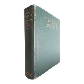 Early 20th Century Large Illustrated Book, Hendrick's the Peaches of New York, 1st Edition For Sale