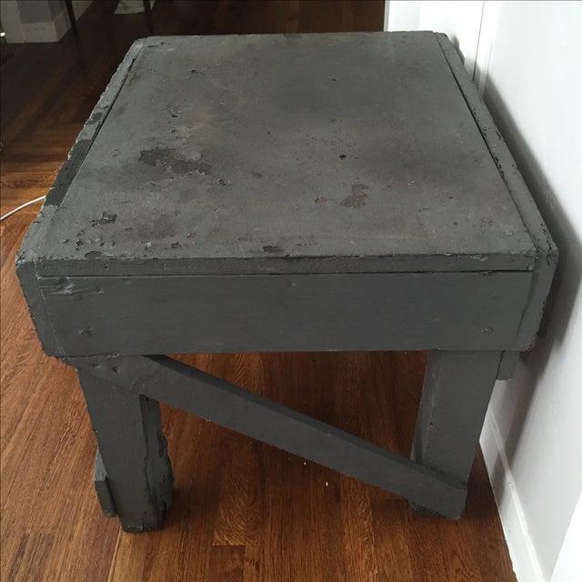 Vintage Distressed Farm Table - Image 7 of 8