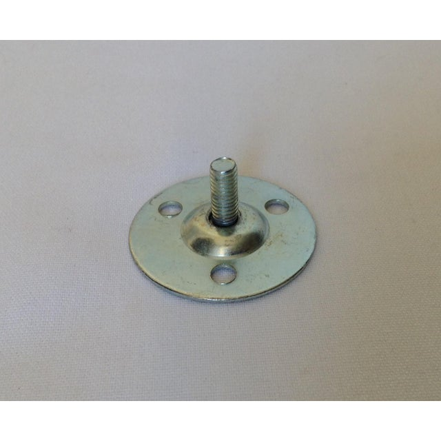German Polished Brass Drapery Hardware Brackets - A Pair For Sale - Image 10 of 10